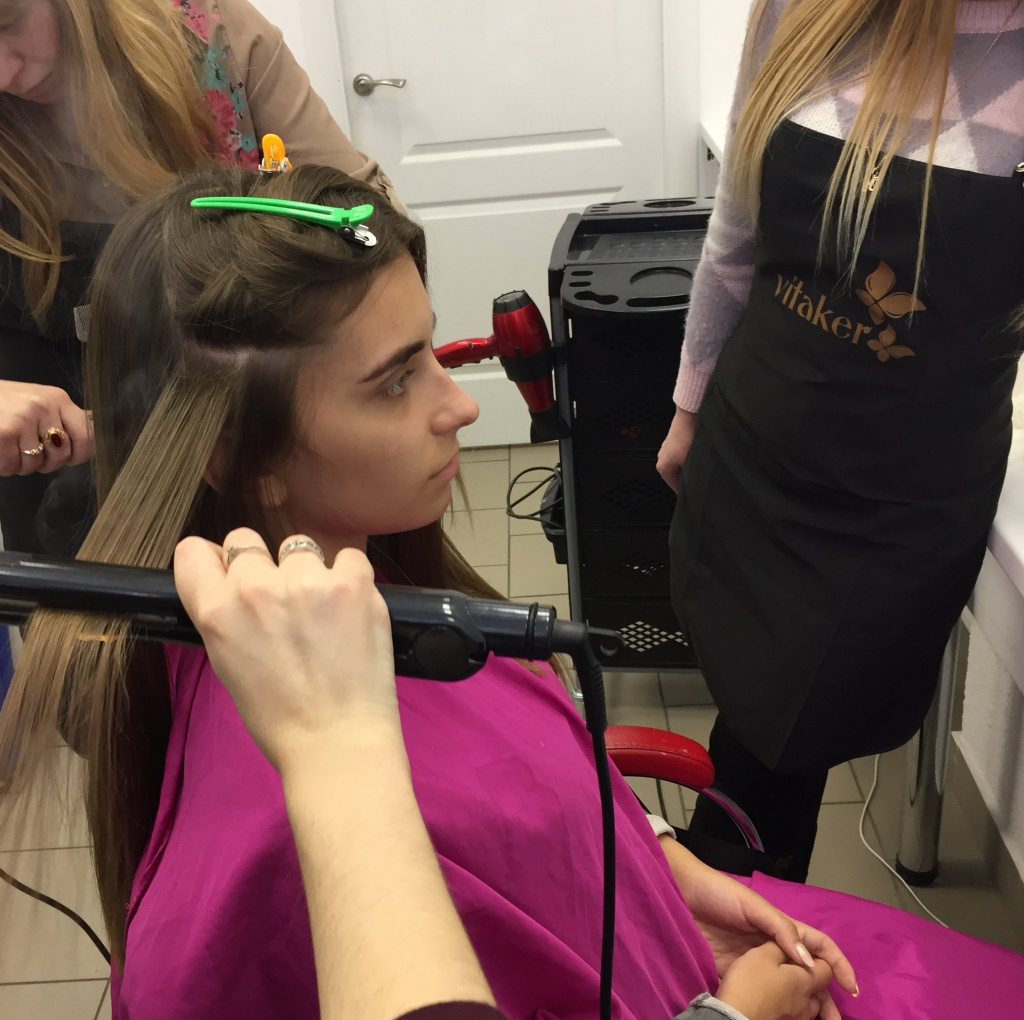Курс нанопластики волос